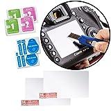 Movo ( 2パック)光学ガラスLCDスクリーンプロテクターfor Canon EOS 5dマークII DSLRカメラ???はUV、傷、&ほこり保護