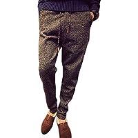 (プチドフランセ) Petit etc Francais メンズ スウェット パンツ 細身 スリム テーラード イージーパンツ 杢グレー