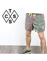 TCSS ティーシーエスエス メンズ 海パン SPBS14-06 PLANTATION BOARDIE サーフパンツ ボードショーツ ショートパンツ ハーフパンツ 膝上 男性用