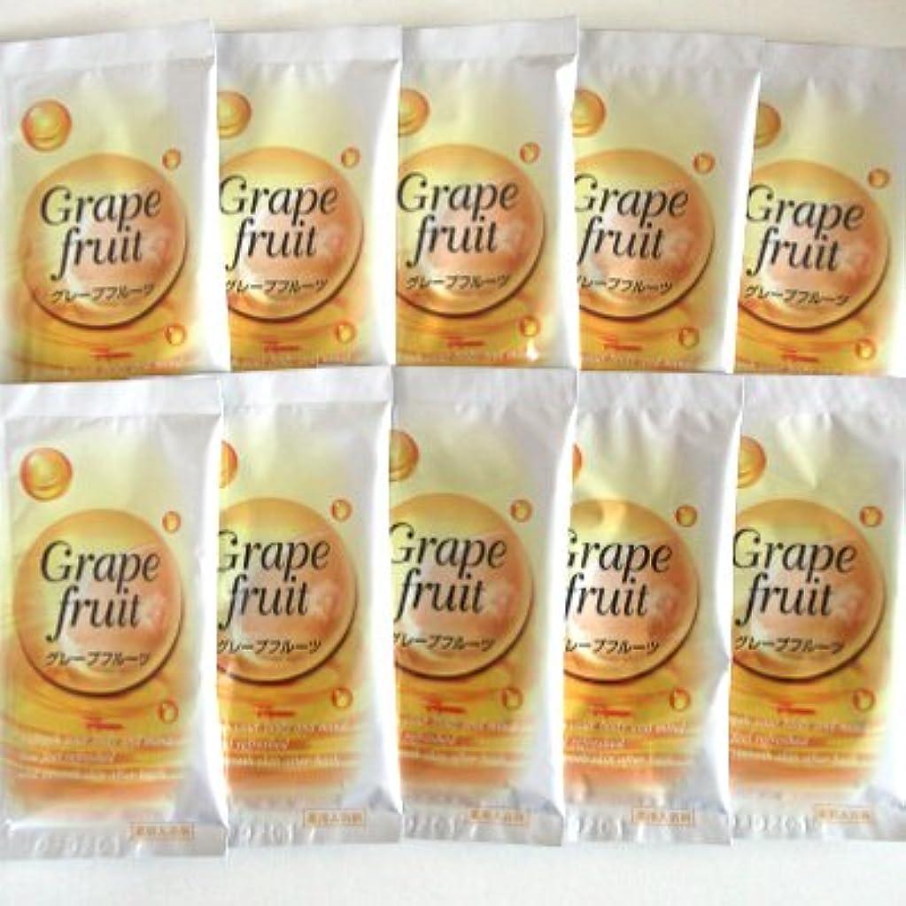 ペパーミント少年等価トプラン入浴剤 グレープフルーツの香り 10包セット