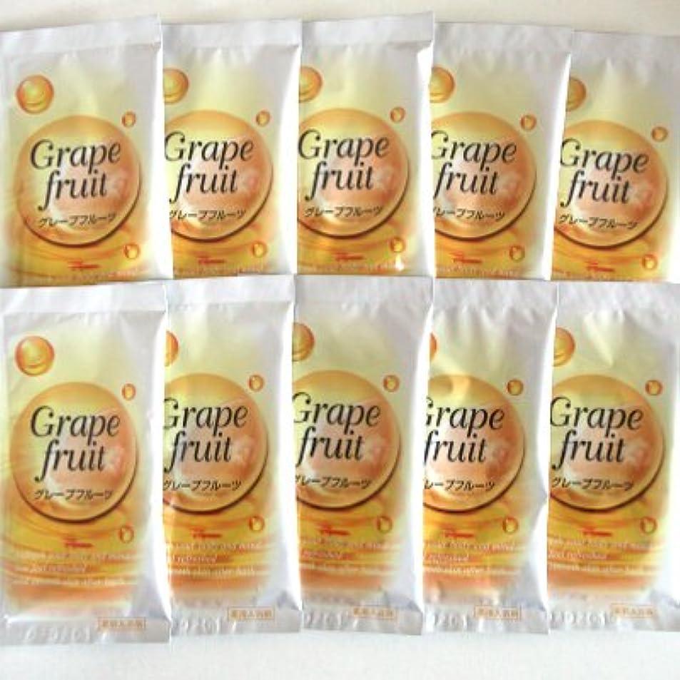 欠席ジェム計画的トプラン入浴剤 グレープフルーツの香り 10包セット