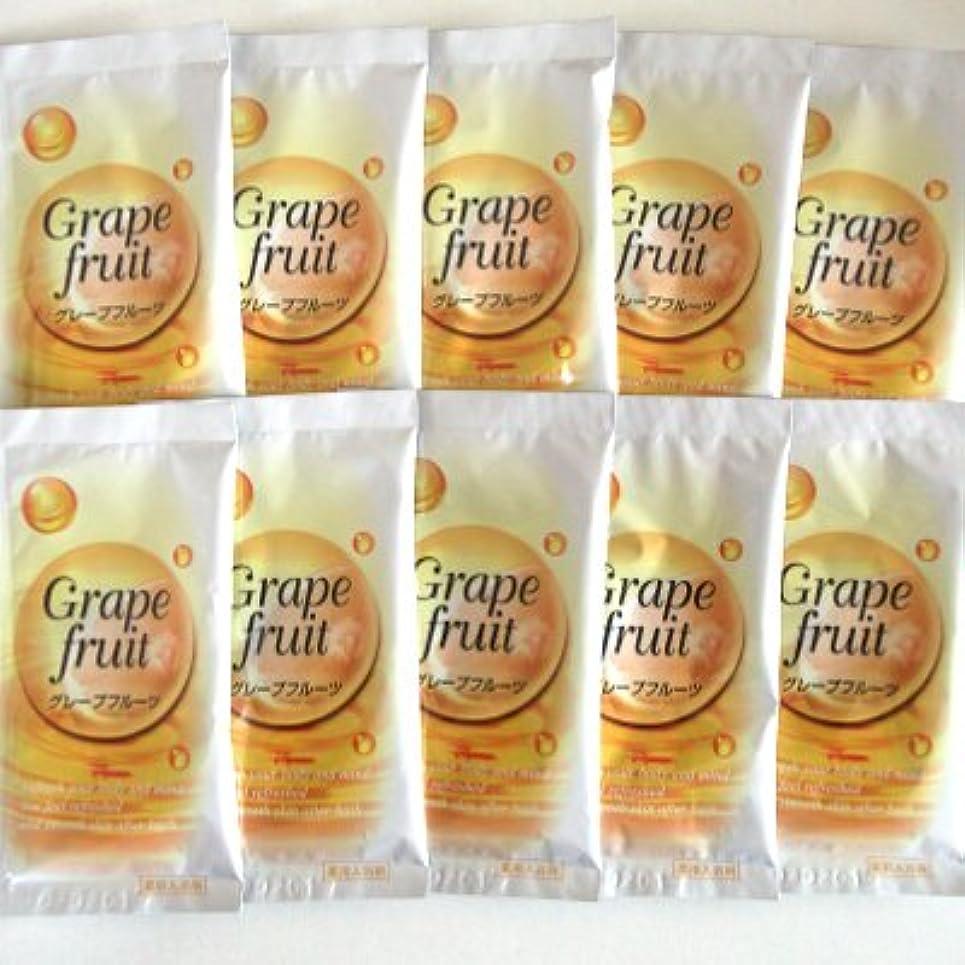 気晴らし導出感嘆符トプラン入浴剤 グレープフルーツの香り 10包セット