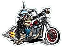Chopper Freakバンパーステッカーヘルメットステッカーラップトップステッカーツールボックスステッカー