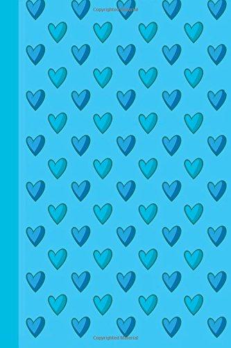 Blue Hearts: Blank Journal Wit...