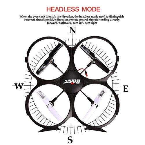 『UDI U818A 2.4GHz 4 CH 6 Axis Gyro RC Quadcopter with Camera RTF Mode 2』の3枚目の画像