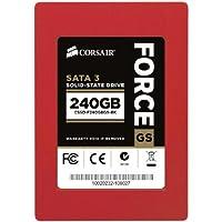 CORSAIR 【並行輸入品】Force Series GS Red 240GB (6Gb/s) SATA 3 SF2200 controller Toggle SSD (CSSD-F240GBGS-BK)