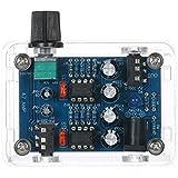 KKmoon NE5532 Hi-Fi ヘッドホンアンプキットDIYキット DC9V-18V 47 Amp 透明ハウジング 自作 組み立てキット