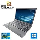 【Microsoft Office 2010搭載】【Win 10搭載】TOSHIBA B551/C/第二世代Core i3 2.1GHz/メモリー8GB/新品SSD:240GB/DVDドライブ/10キー付/大画面15.6インチ/無線LAN搭載/中古ノートパソコン/ (新品SSD:240GB)