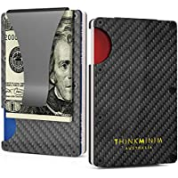 Money Clip Minimalist Wallet Case Aluminium RFID Premium Design for Men Women