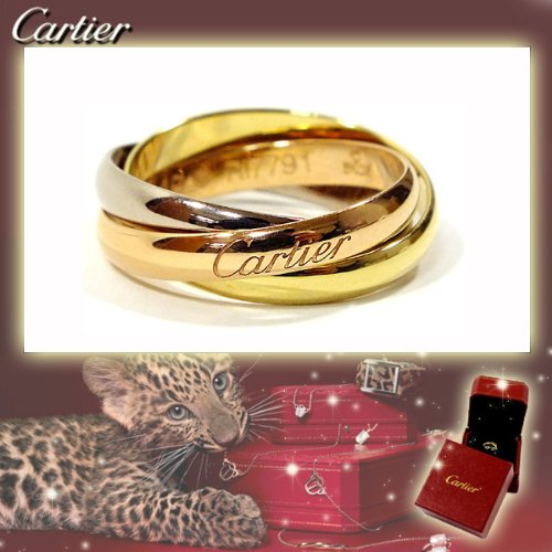 CARTIER カルティエ リング トリニティリング [リクエスト注文/選べるサイズ] Sモデル 指輪 プレゼント リクエスト 女性 レディース