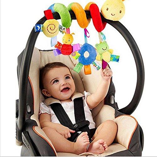 HKUN ベビーカー用おもちゃ 赤ちゃん ベビーベッド ベビーカー 知育遊具 動物