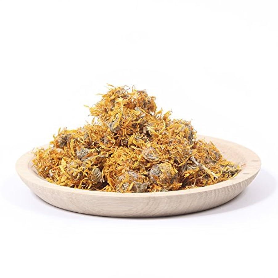 ハンカチ教授楕円形Dried Marigold Petals - 100g