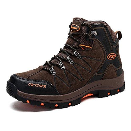登山靴 メンズ 防水 防滑 ハイキングシューズ 耐磨耗 衝撃吸収 トレッキングシューズ