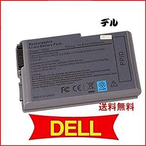 Dell/デル 500M 505M 510M 600M D500 D505 D510 D520 D600 D610 M20 対応 ノートパソコンバッテリー 4cell 14.8V 2200mAh 並行輸入品