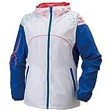 (ミズノ)MIZUNO クロスティックウェア ウィンドブレーカーシャツ [ウィメンズ] 32JE6210 01 ホワイト M
