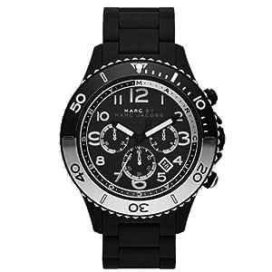 【2014年モデル】MARC BY MARC JACOBS[マークバイマークジェイコブス]MODEL NO.mbm5057 Rock black Mens Watch ロック メンズ ラバーベルト 腕時計 [並行輸入品]