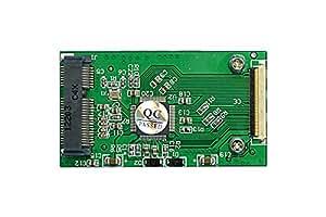 "ProjectM mSATA SSD to 1.8"" ZIF変換基板 MSATA2ZIF"