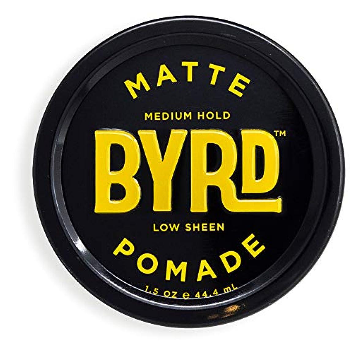 舗装腸取り除くBYRD(バード)  マットポマード 28g