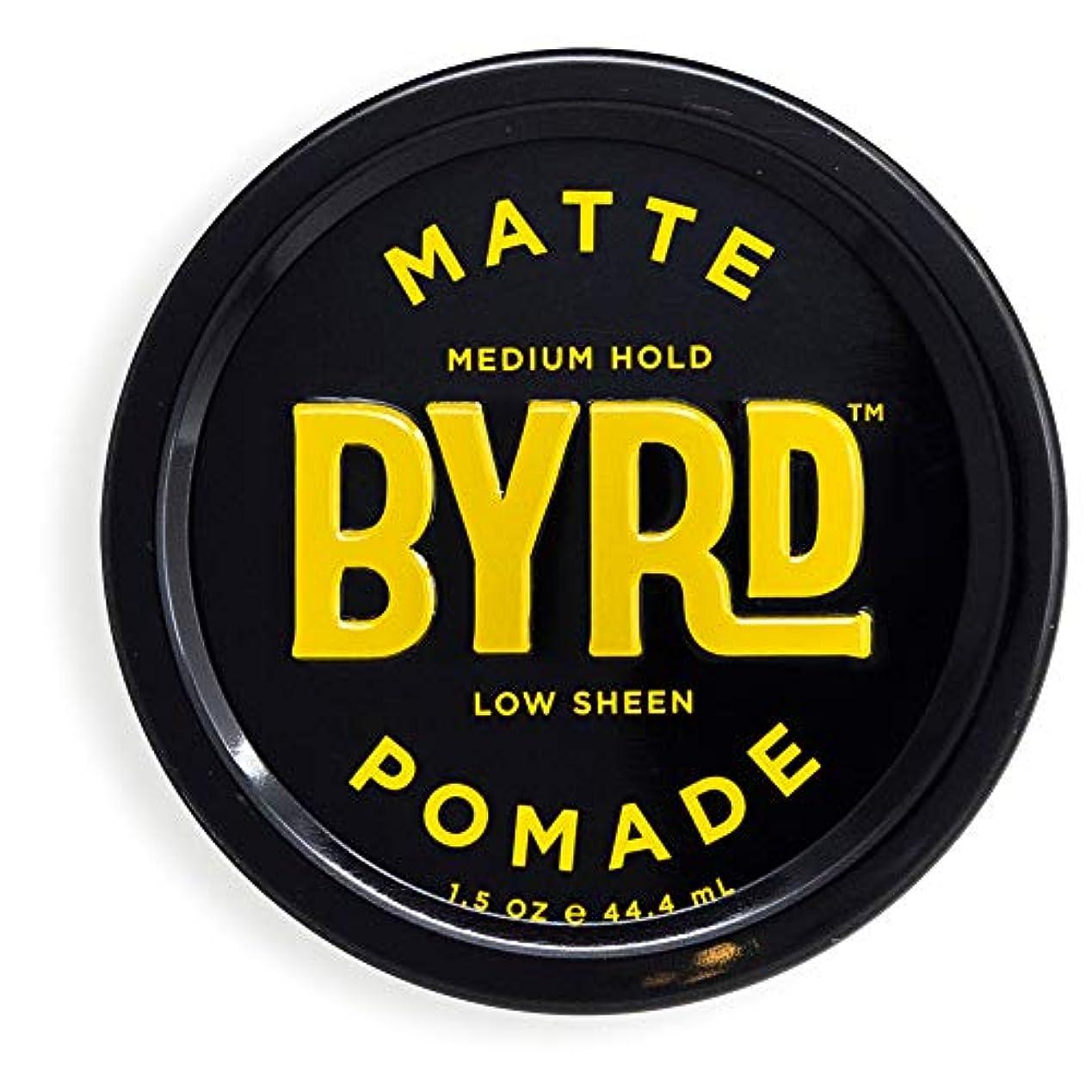 刻む建てる印をつけるBYRD(バード)  マットポマード 28g