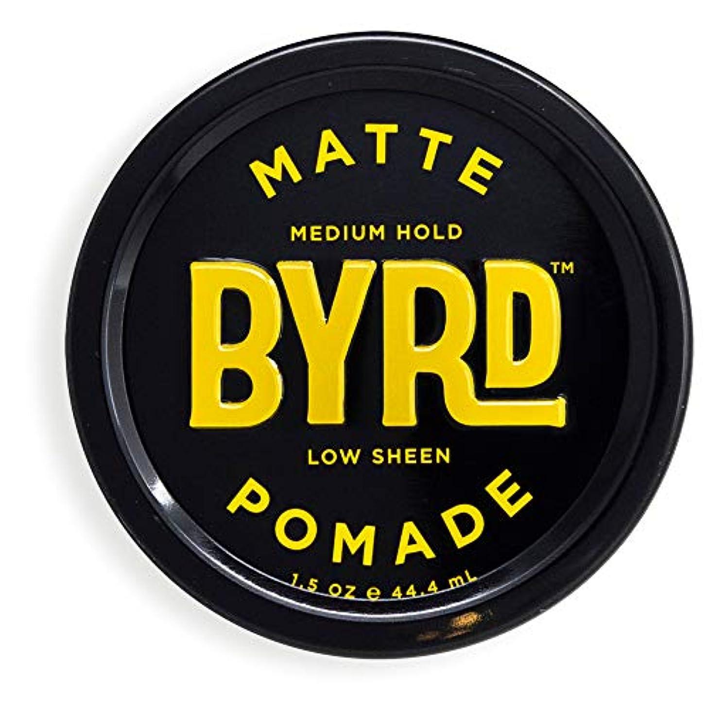 道を作る領域分配しますBYRD(バード)  マットポマード 28g