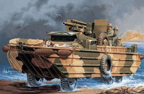 イタレリ 6429 1/35 DUKW 105mm榴弾砲