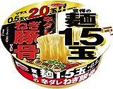エースコック 驚愕の麺1.5玉+0.5玉 辛ダレねぎ豚骨ラーメン 144g×12個