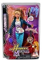 Jakks Pacific Year 2008 Disney TV Series Hannah Montana 11 Inch Doll Set - Live in Concert with Hannah Montana Doll