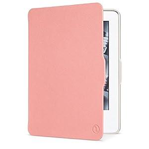 【Kindle(第7世代) カバー】 Nupro スリムフォリオカバー ピンク