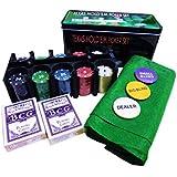Cota's home ポーカー セット トランプ 2セット チップ 200枚 マット テキサスホールデム 日本語説明書 カジノゲーム (ポーカーセット)
