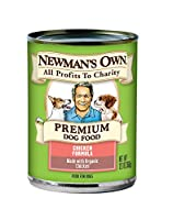 Newman's Own Chicken Formula for Dogs, 12.7-Ounce Cans by Newman's Own