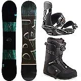 HEAD(ヘッド) メンズ スノーボード 3点セット ボード バインディング ブーツ 国内正規代理店品 ABILITY FLOCKA board-set-b-150-M-270