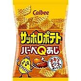 カルビー サッポロポテト バーベQあじ 24g × 24袋