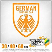 KIWISTAR - German Custom Car - Autotuning 15色 - ネオン+クロム! ステッカービニールオートバイ