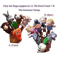 ychoice面白いFinger Puppetsおもちゃ13個ストーリーTelling袋バッグFinger Puppets子供ギフトPresent