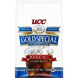UCC ゴールドスペシャル コーヒー 豆(粉) アイスコーヒー AP 320g