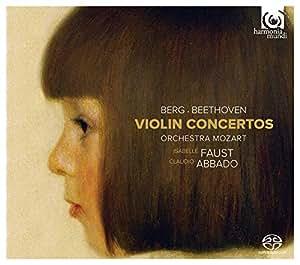 アルバン・ベルク & ベートーヴェン : ヴァイオリン協奏曲 / イザベル・ファウスト (Berg, Beethoven: Violin Concertos/ Isabelle Faust) [SACDシングルレイヤー] [国内プレス] [限定盤] [日本語帯・解説付]