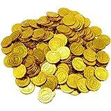 YeahiBaby 10ピースビットコインコイングッズギフトBTCコインゲームの小道具パーティーの好意子供のための子供子供(ゴールデン)