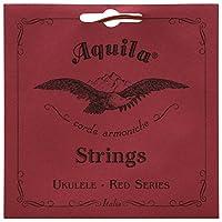 Aquilaレッドシリーズaq-88Tenor Ukulele Strings–Low G–1セットの4