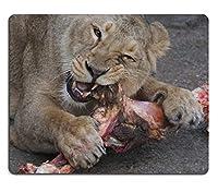 17P16658高品質の創造性マウスパッドのゲームマウスパッドライオネス食品動物園天然ゴム素材