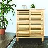 ISSEIKI シューズボックス 下駄箱 ナチュラル 幅80 格子デザインが恰好よい、お洒落なデザイン 木製家具 【RO-34-1】