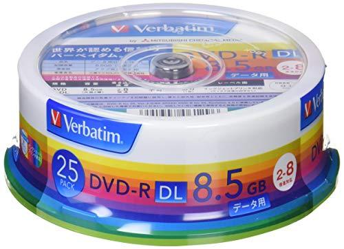 三菱ケミカルメディア Verbatim 1回記録用 DVD-...