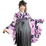 (キョウエツ) KYOETSU ククー メモワール Coucou Memoire 卒業式 二尺袖着物 女性 振袖 単品 猫と桜 (M, N-11)