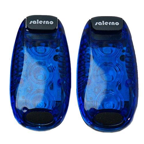 Salerno(サレルノ) LEDクリップライト 日本語説明書付き ブルー2個セット