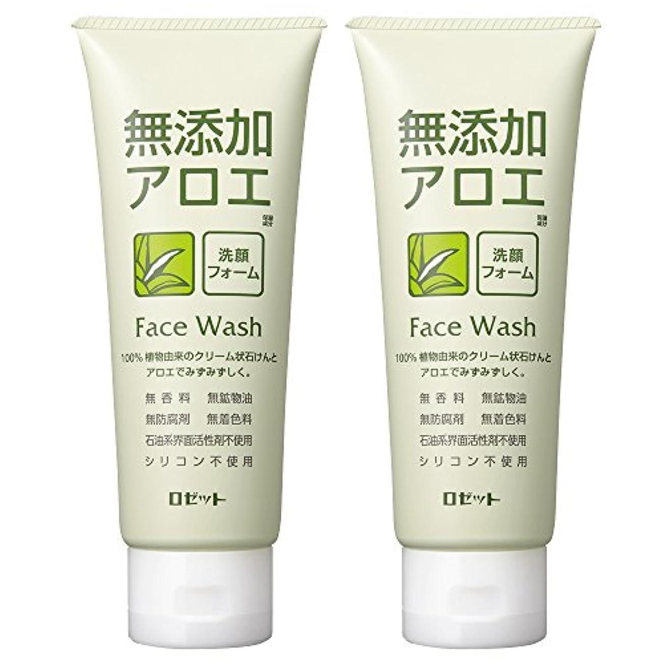 スクリーチ大学不毛のロゼット 無添加アロエ 洗顔フォーム 140g×2個パック AZ