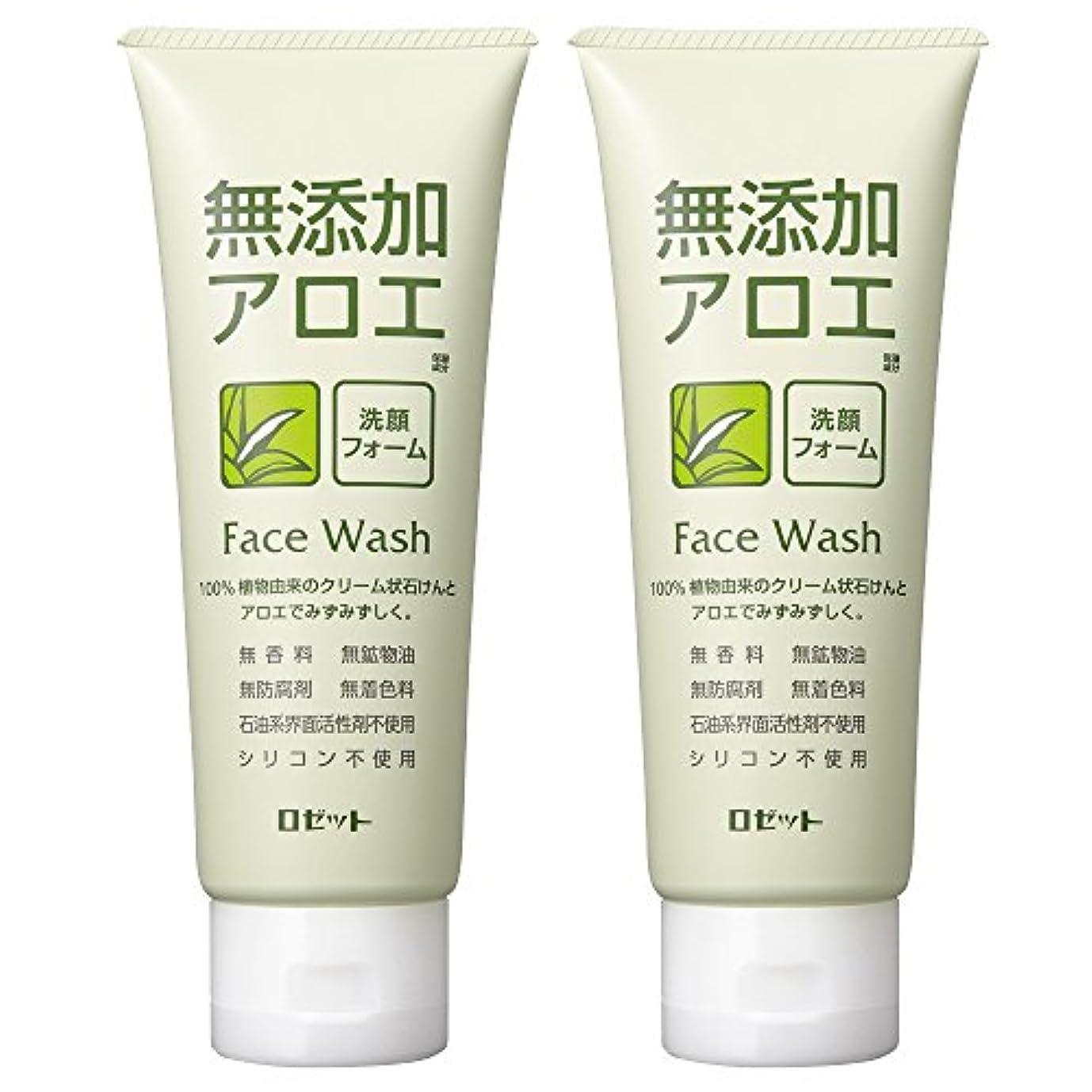だますオーバードローカウントロゼット 無添加アロエ 洗顔フォーム 140g×2個パック AZ