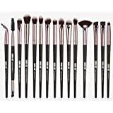 15Pcs Black/Gold Professional Makeup Brushes Set Make up Brush Tools kit Eye Liner Eyeshadow Eye Brushes Make-up