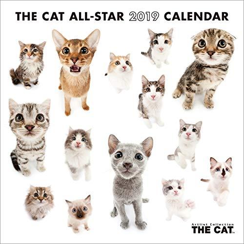 (ミニ)THE CAT ALL-STAR 2019年 カレンダー 壁掛け CL-1154