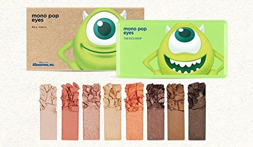 [期間限定 ディズニーコラボ] THE FACE SHOP Mono Pop Eyes 9.5g/ザフェイスショップ モノ ポップ アイズ 9.5g (#2 Mike:Eyes)
