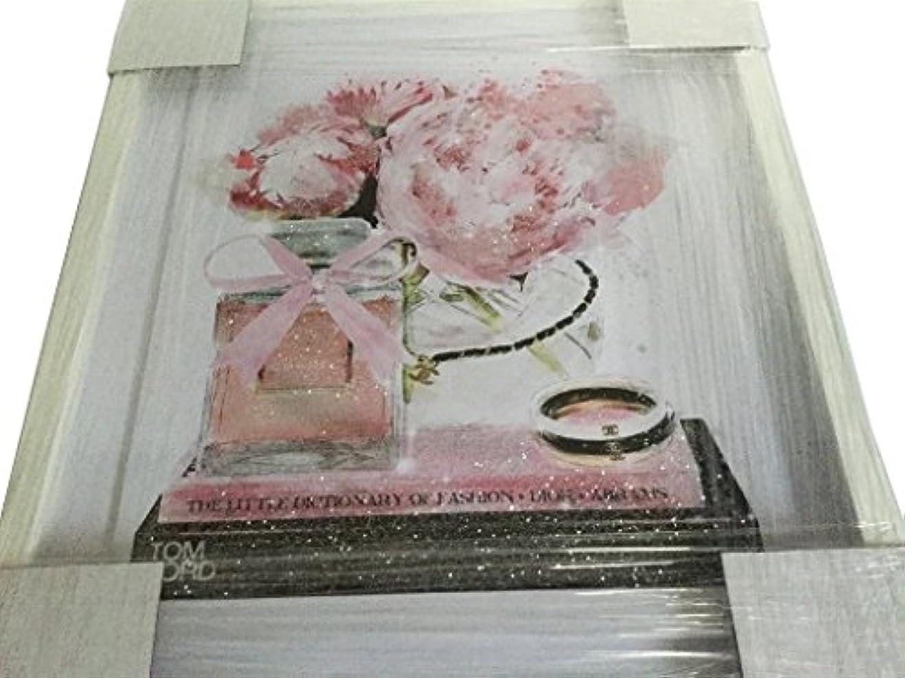 ソロトラック依存Oliver Gal O83 Elegant Perfume and Morning CHANEL スワロフスキー (17×20インチ:43.18×50.8cm)