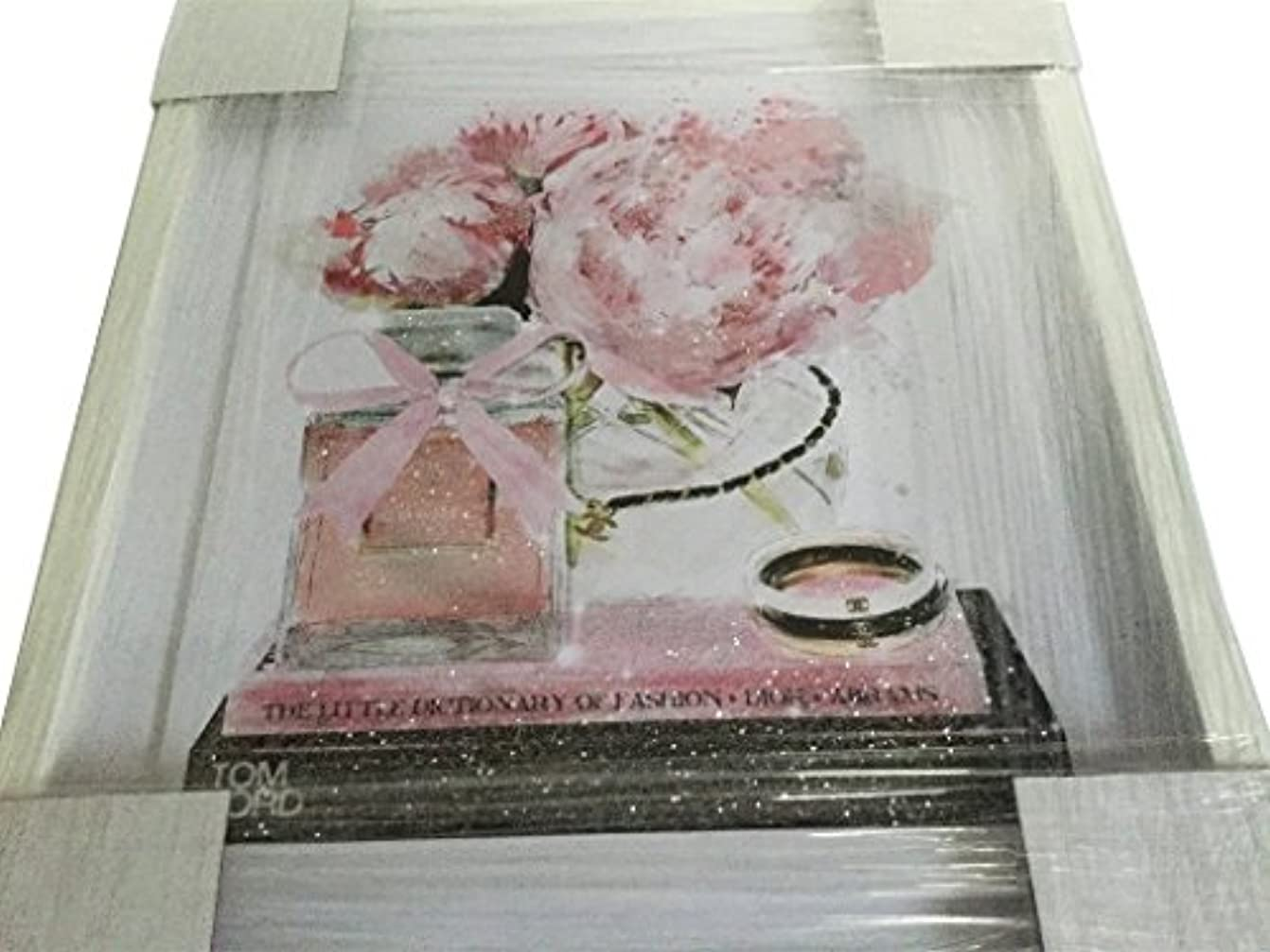 超越するクアッガ害Oliver Gal O83 Elegant Perfume and Morning CHANEL スワロフスキー (17×20インチ:43.18×50.8cm)